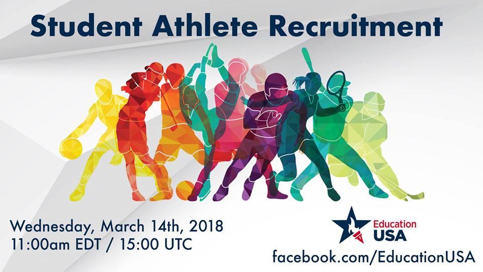 Student Athlete Recruitment Poster